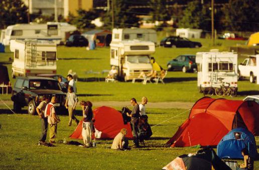 camping omkring københavn